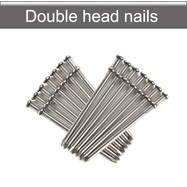 Double head nails