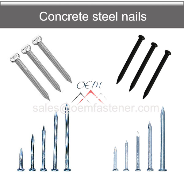 Concrete Steel nail