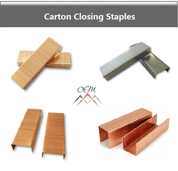 Carton-Closing Staples