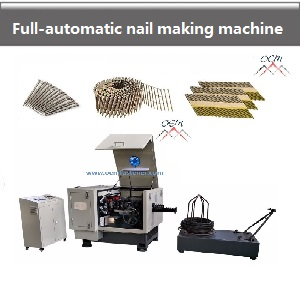 FULL AUTOMATIC NAIL MAKING MACHINE